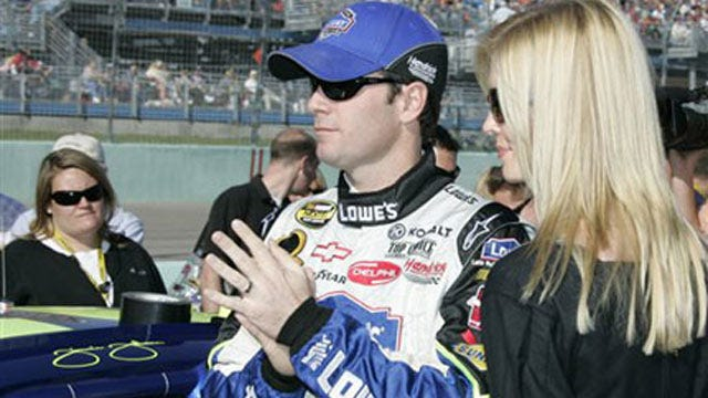 Three Muskogee Schools Get Money From Five-Time NASCAR Champion, Wife