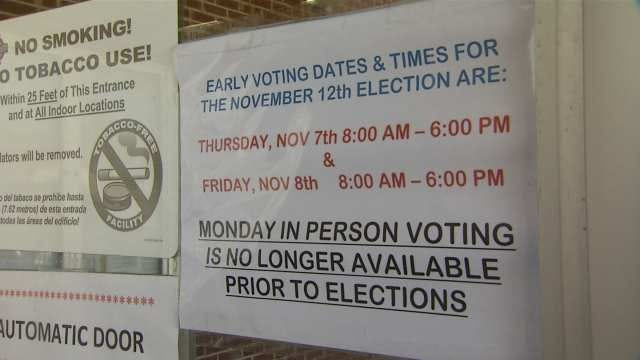 Early Voting Begins Thursday In Tulsa