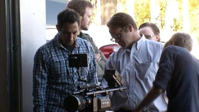 Hollywood Producer Visits TU Film Students