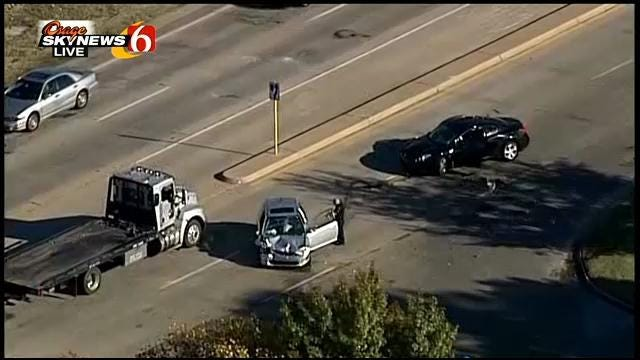 One Man Critically Injured In Crash On Riverside South Of 71st Street