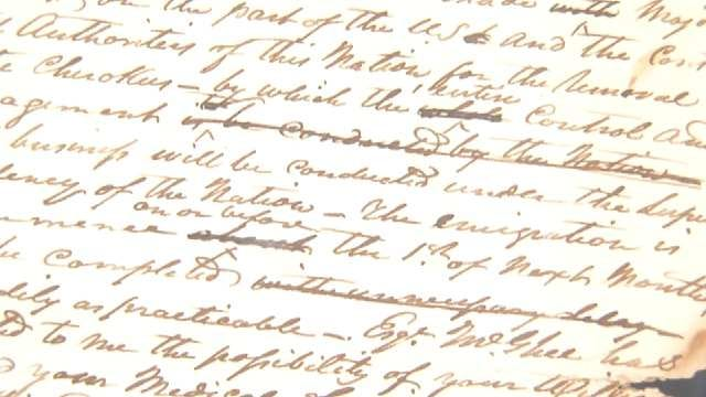 Cherokee Nation Donates Historic Documents To Gilcrease Museum