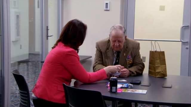 Cookson World War II Veteran Honored For Overcoming Illiteracy At 90