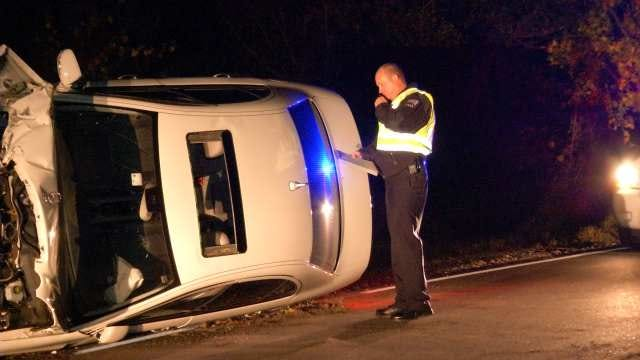 Tulsa Police Say Driver Of Wrecked Mercedes Took Sunroof Exit