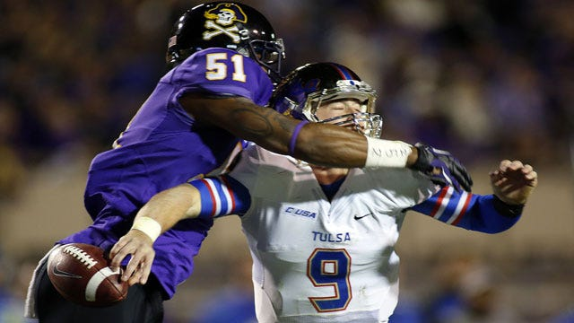 East Carolina's Offense Too Much For Depleted Golden Hurricane