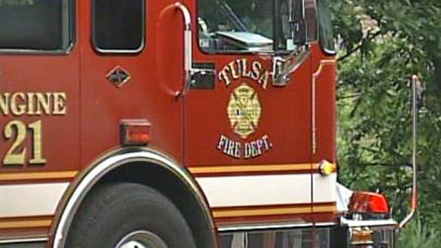 Two Men Rescued From Burning North Tulsa Fourplex