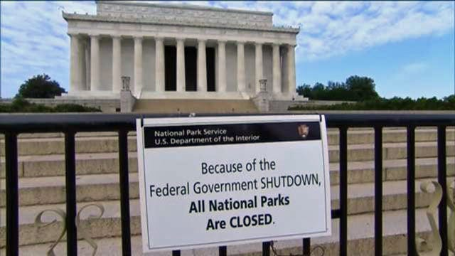 Blame Game Starts As Federal Government Shuts Down