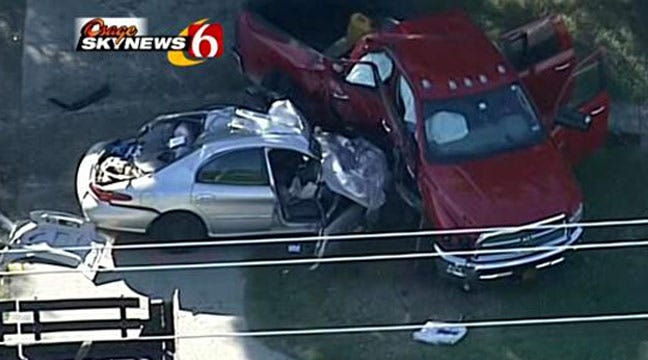 Driver Involved In Tulsa Wreck Dies Of Injuries
