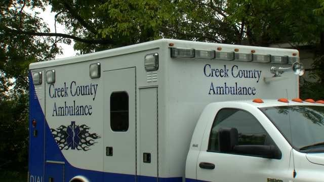 Stolen Creek County Ambulance Recovered In Tulsa