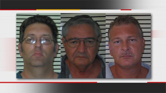 Three Arrested In Wagoner County Undercover Sex Sting