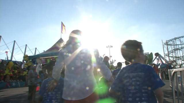 Tulsa Shelter Kids Treated To Free Day At The Fair