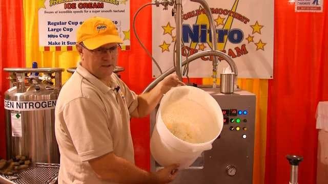 Tulsa State Fair Vendor Using Science To Make Nitro Ice Cream