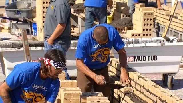 Oklahomans Compete In Bricklayer 500