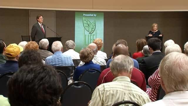 Candidates For Mayor Meet For Forum At Tulsa Senior Center
