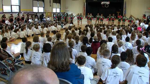 Eliot Elementary Celebrates Title Of 'Most Active' School In Tulsa