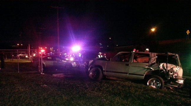 Several Injured In Crash In Front Of Tulsa's Admiral Twin Drive-In