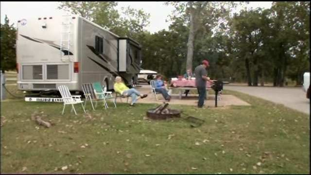 State Campgrounds Booming During Federal Shutdown