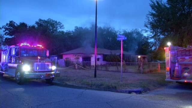 Tulsa Firefighters Rescue Man From Burning House