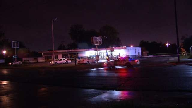 Police: Man Shot In Back Outside Tulsa Convenience Store