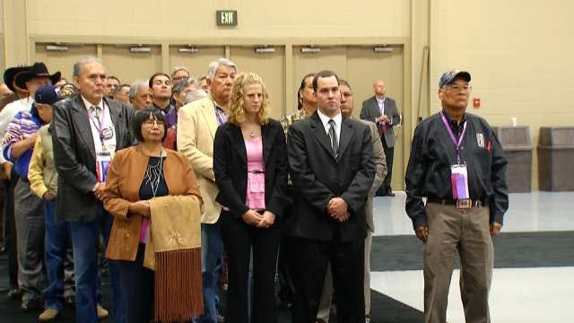 Dusten Brown Honored At National Congress Of American Indians