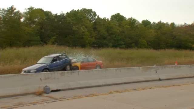 Green Country Law Enforcement Stage Live Crash Test