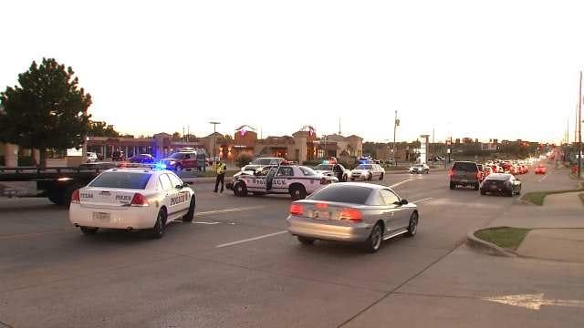Police Cruiser-Involved Crash Backs Up Traffic Near Union Game