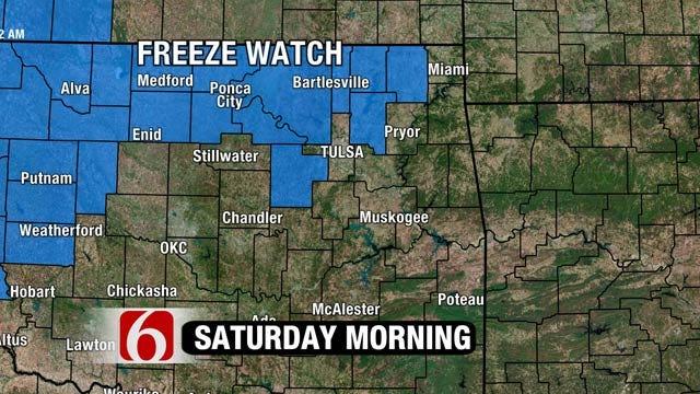 Jacket Weather This Weekend Across NE Oklahoma