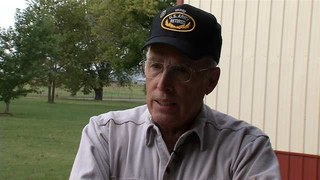 Rogers County Veteran Tracks Down Stolen Truck