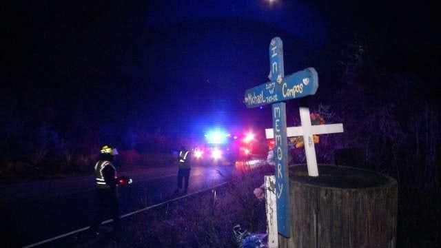 Tulsa Police Find Vodka Bottle In Wrecked, Abandoned Car