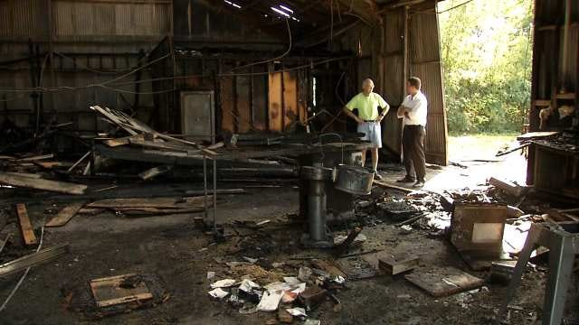 Habitat For Humanity Warehouse In Bartlesville Destroyed By Fire