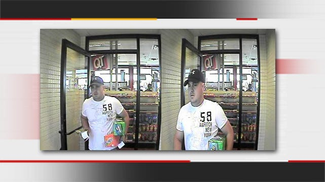 Jenks Police Seek To ID Man Accused Of Using Credit Card Stolen From Car