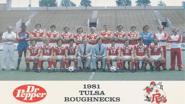 Tulsa Roughnecks To Celebrate 30th Anniversary Of 'Soccer Bowl' Victory