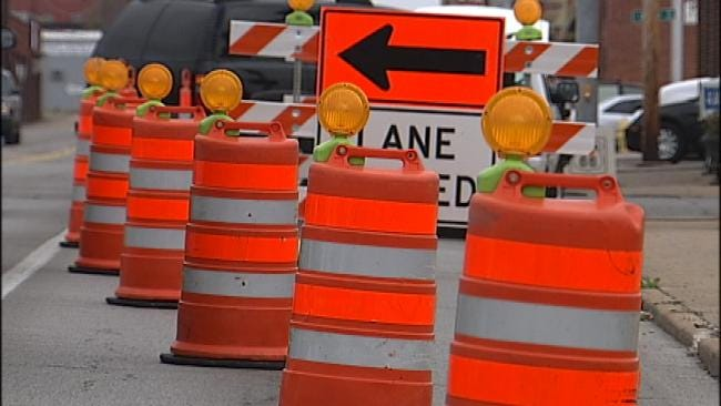 Construction Causes Major Traffic Delays On Will Rogers Turnpike