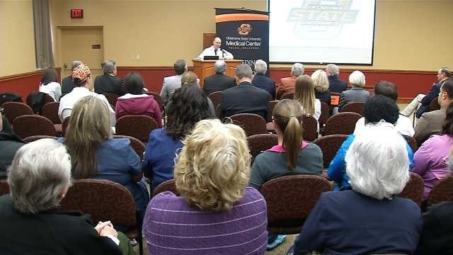 State Lawmakers Tour Tulsa's OSU Medical Center