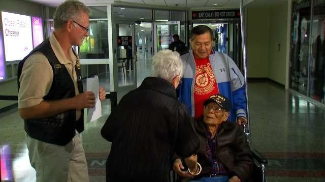 Tulsa Veteran Welcomed Home After Visiting Scene Of World War II Captivity
