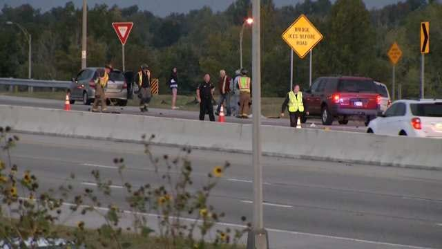 Rush-Hour Wreck Slows Traffic On Westbound BA Expressway Near I-44