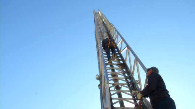 Tulsa Fire Cadets Prove Their Skills At Great Heights
