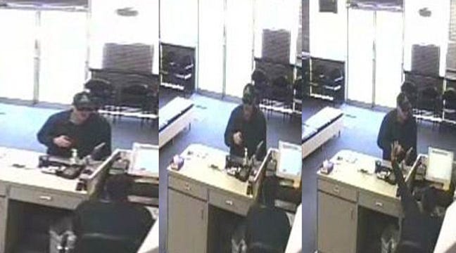 Tulsa Police Release Photos Of Armed Robbery Suspect