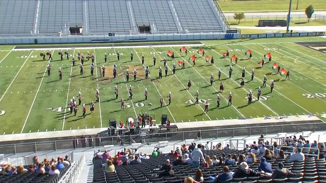 21 Eastern Oklahoma Marching Bands Compete In Broken Arrow