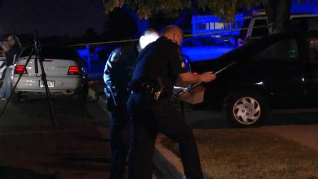 Tulsa Police: Man Caught Breaking Into SUV Shot In Leg By Homeowner