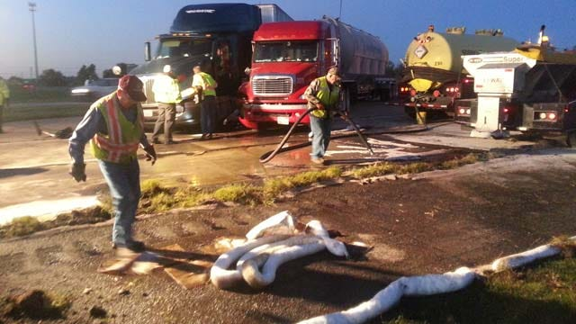 Westbound Lanes Of U.S. 412 Reopened After Box Truck, Semi Crash