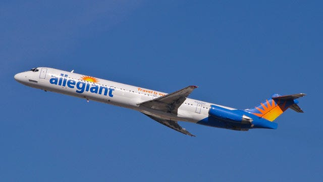 Allegiant Airlines' Ready For Inaugural Flight Out Of Tulsa