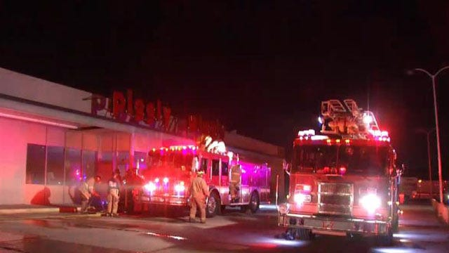Arson Suspect Trapped Inside Burning Piggly Wiggly Is Arrested