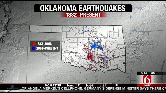 Journal Record Reporter Researches Oklahoma Earthquakes