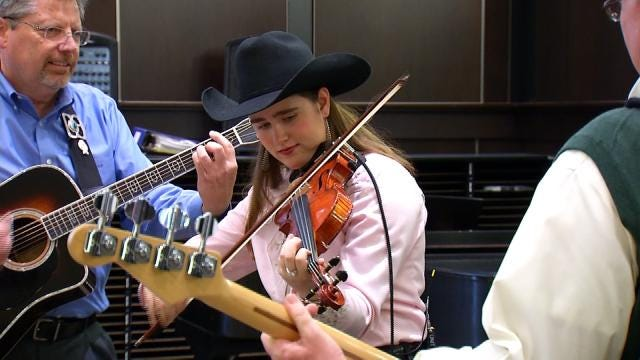 Meet Tulsa State Fair's First Female Champion Fiddler