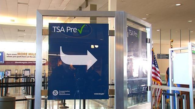 TSA Opens Pre-Check Express Lane At Tulsa International Airport