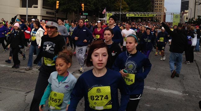 36th Annual Tulsa Run Draws Thousands Of Athletes