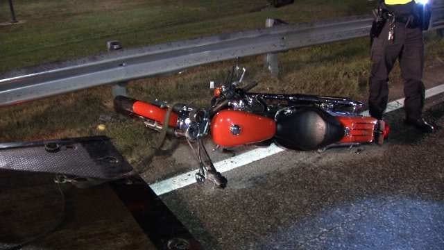Police: Wet Road May Have Caused Tulsa Motorcycle Crash