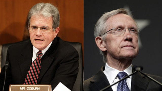 Report: Senator Tom Coburn Uses Colorful Term For Sen. Harry Reid