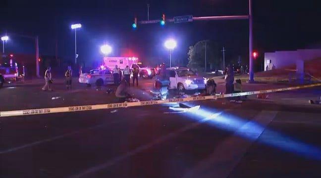 Tulsa Police Seek Black Camaro Involved In Fatal Street Racing Wreck