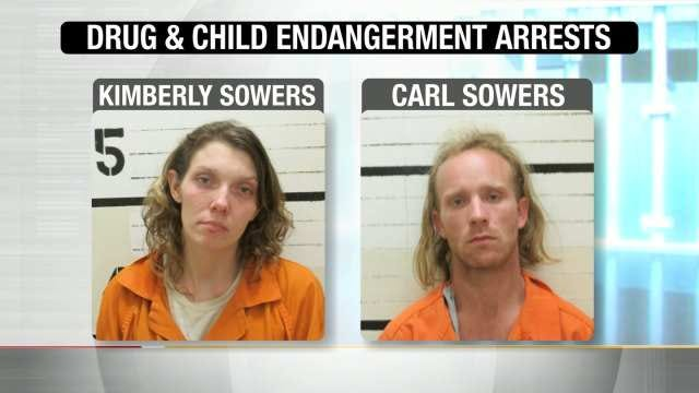 Haskell Couple Arrested After Baby Found In Roach-Infested Playpen